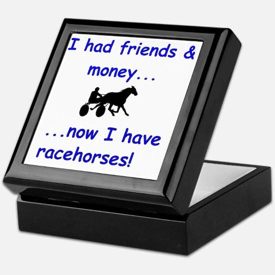 race horse Keepsake Box