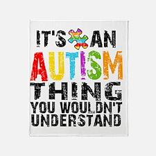 Autism Thing Throw Blanket