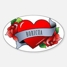 Boricua Sticker (Oval)