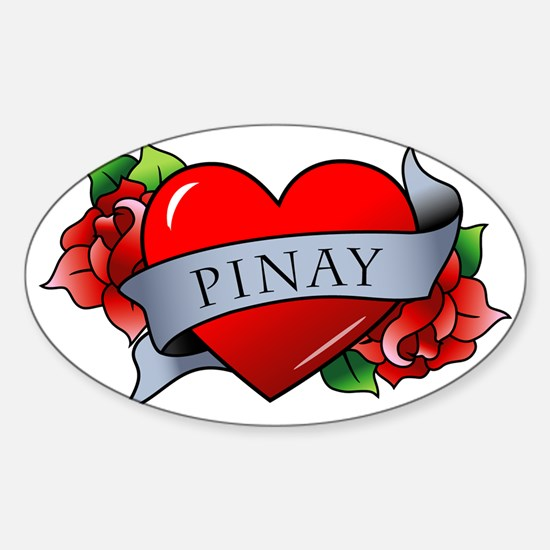 Pinay Sticker (Oval)