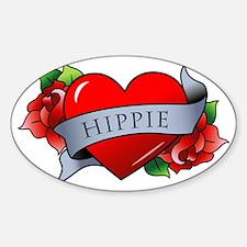 Hippie Decal