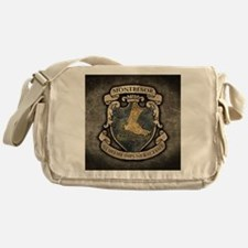 MONTRESOR-COAT-OF-ARMS_13-5x18 Messenger Bag