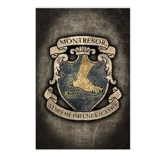 MONTRESOR-COAT-OF-ARMS_j Postcards (Package of 8)