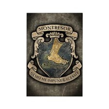 MONTRESOR-COAT-OF-ARMS_j Rectangle Magnet