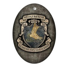 MONTRESOR-COAT-OF-ARMS_j Oval Ornament