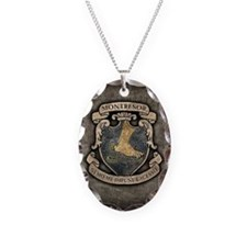 MONTRESOR-COAT-OF-ARMS_b Necklace Oval Charm