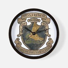 MONTRESOR-COAT-OF-ARMS_TR Wall Clock