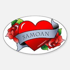 Samoan Decal