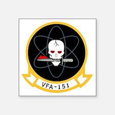 """vfa-151 Square Sticker 3"""" x 3"""""""