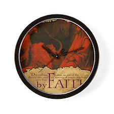 HailFire_Mousepad_ByFaith_Daniel Wall Clock