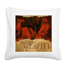 HailFire_Mousepad_ByFaith_Dan Square Canvas Pillow