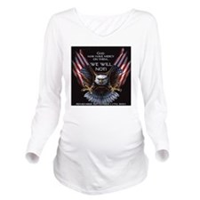 m0204.gif Long Sleeve Maternity T-Shirt