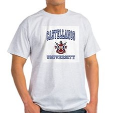 CASTELLANOS University Ash Grey T-Shirt