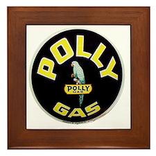 pollygas.gif Framed Tile