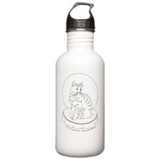 largeposter_pretty_kit Water Bottle