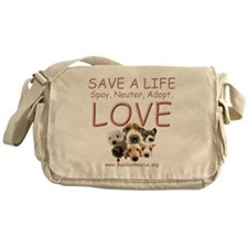 save_a_life_2a Messenger Bag