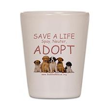 save_a_life_11a Shot Glass