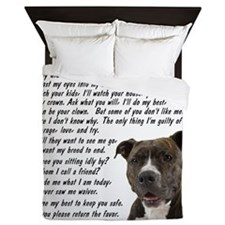 you_made_me_what_I_am_today_pit2 Queen Duvet
