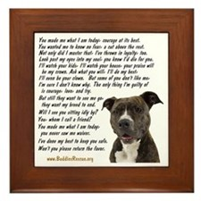 you_made_me_what_I_am_today_pit2 Framed Tile