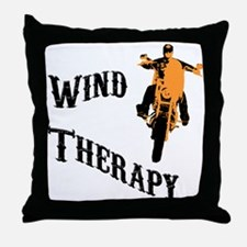wind therapy Throw Pillow