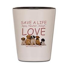save_a_life_1a Shot Glass