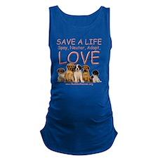 save_a_life_1a Maternity Tank Top