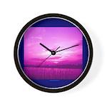PurpleSkies Wall Clock