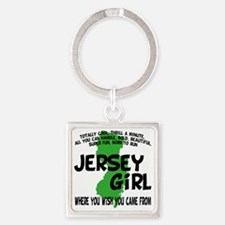 jersey girl Square Keychain