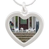 Bichon frise Necklaces