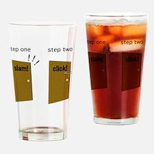 2-slamclick Drinking Glass