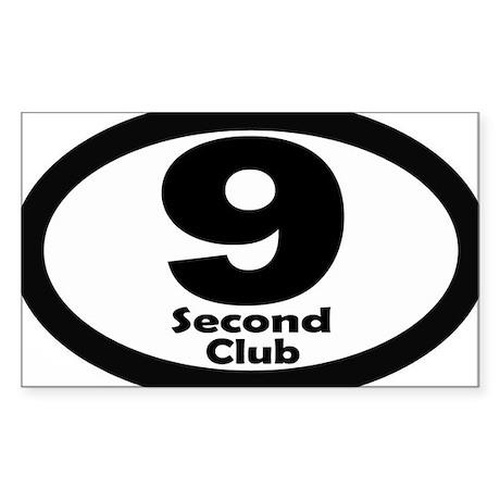 9sec_sticker Sticker (Rectangle)