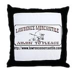 Lawrence Mercantile Throw Pillow