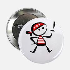 """Talk Pirate -dk 2.25"""" Button"""