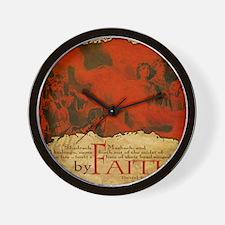 Mousepad_ByFaith_ShadMeshAbed Wall Clock