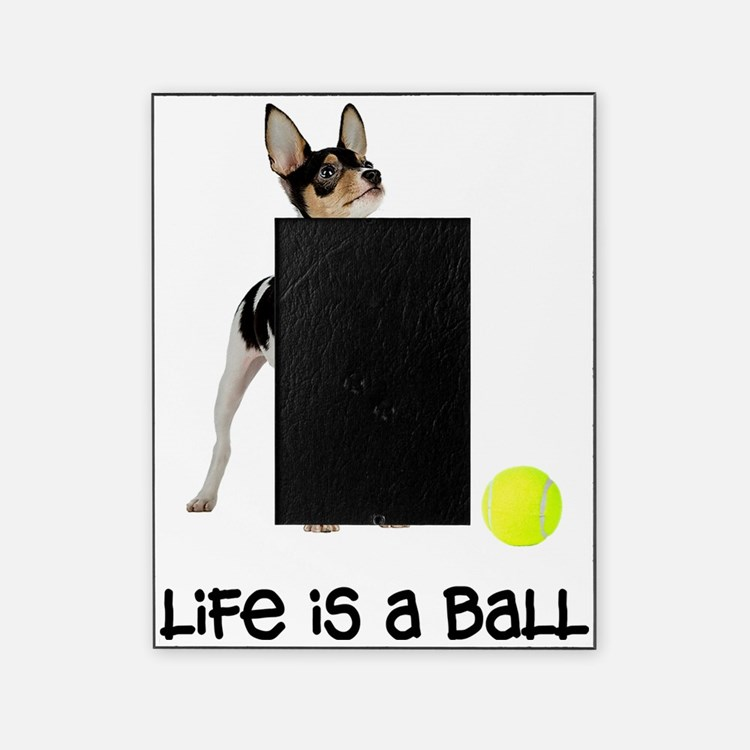 FIN-toy-fox-terrier-life Picture Frame