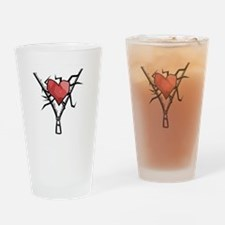 THIS IS A HEART Drinking Glass