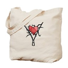 THIS IS A HEART Tote Bag