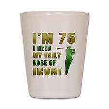 Iron 75 Shot Glass