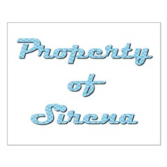 Property Of Sirena Female Posters