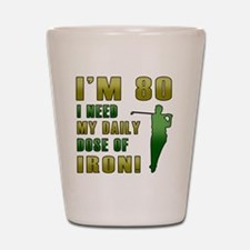 Iron 80 Shot Glass