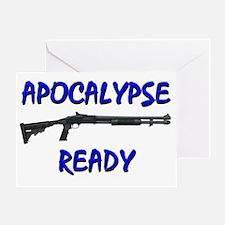 apocalypsereadylightshirt Greeting Card