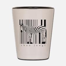 zebra-art Shot Glass