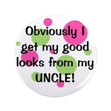"""obviously_uncle_girl 3.5"""" Button"""