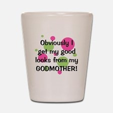 obviously_godmother_girl Shot Glass