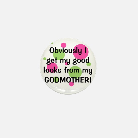 obviously_godmother_girl Mini Button