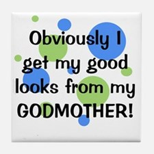 obviously_godmother_boy Tile Coaster