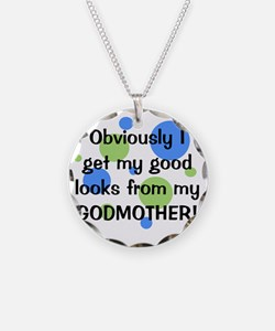 obviously_godmother_boy Necklace Circle Charm