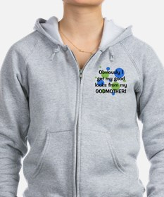 obviously_godmother_boy Zip Hoodie