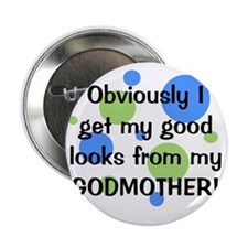 """obviously_godmother_boy 2.25"""" Button"""