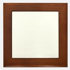Maddow Stupid Evil White Framed Tile